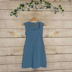 Athleta Light Blue Skater Dress